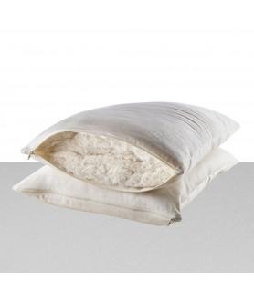 Oreiller déhoussable coton bio