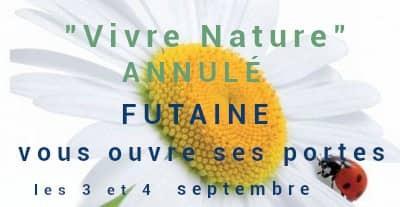"""Salon """"Vivre Nature"""" annulé, Futaine ouvre ses portes Futaine"""